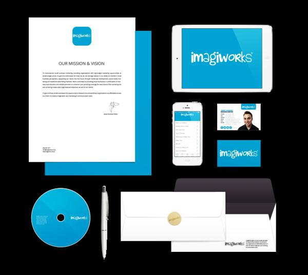 ImagiWorks Branding Mock