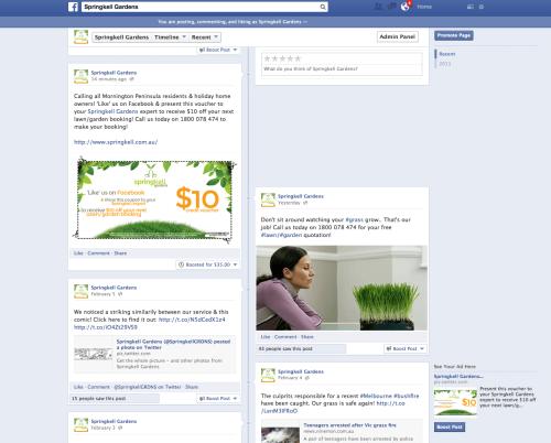 Springkell Facebook Ad