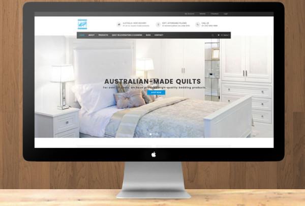 Superior Quilt Co Web Design e-commerce website Melbourne startup marketing small business marketing consultancy creative agency melbourne